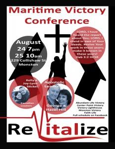 Revitalize @ Moncton Victory Church